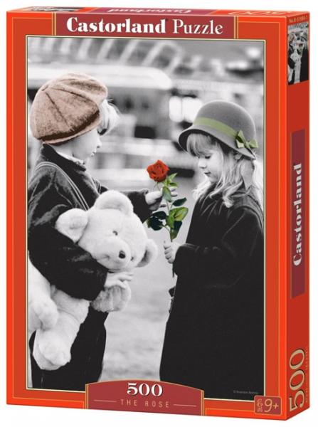 Пазл: Роза, 500 элементов – Castorland
