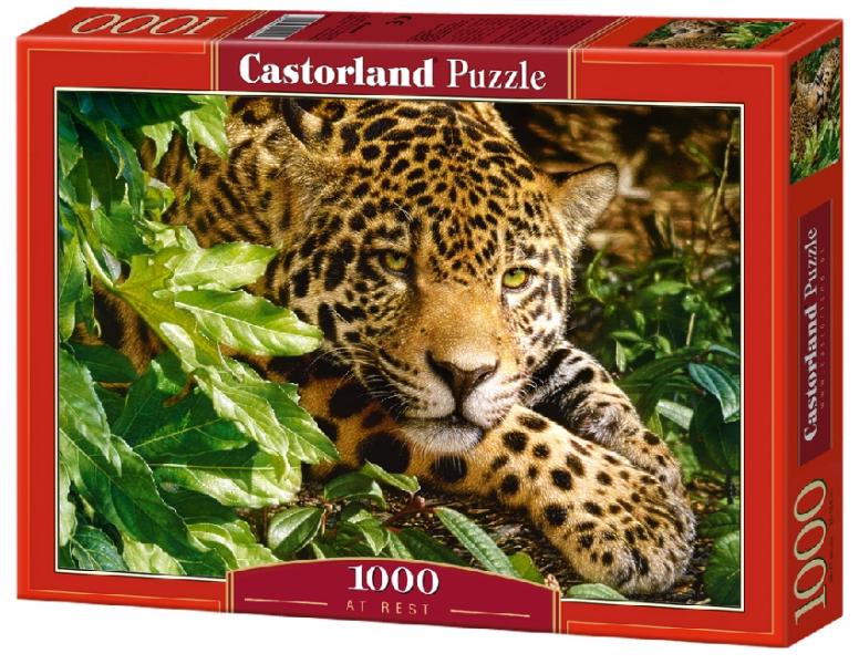 Пазл: Леопард, 1000 элементов – Castorland