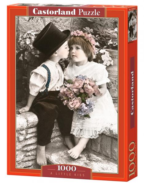 Пазл: Поцелуй, 1000 элементов – Castorland