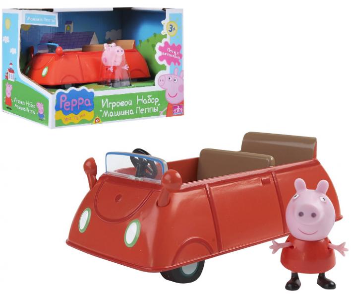 Свинка Пеппа: Игровой набор Машина Пеппы с фигуркой - Росмэн