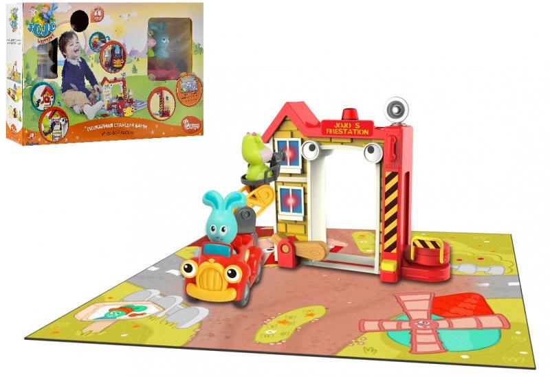 Игровой набор: Пожарная станция Бани - Ouaps