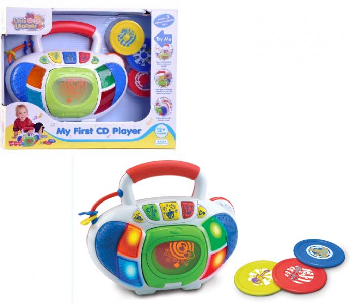 Музыкальная игрушка: Детский Музыкальный центр - Hap-P-Kid