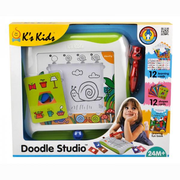 Доска для рисования с обучающими карточками - K's Kids