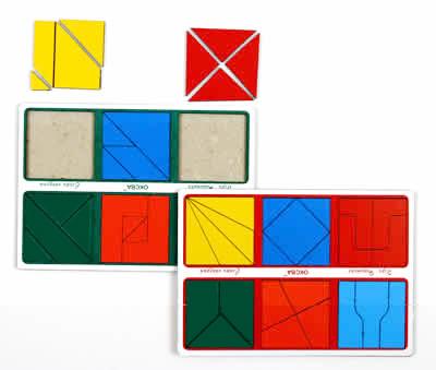 Развивающая Игра Никитина: Собери квадрат 3 категория, Эконом – ОКСВА