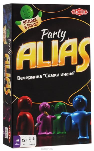 Настольная игра: Элиас Вечеринка (Alias Party), компактная версия - Tactic