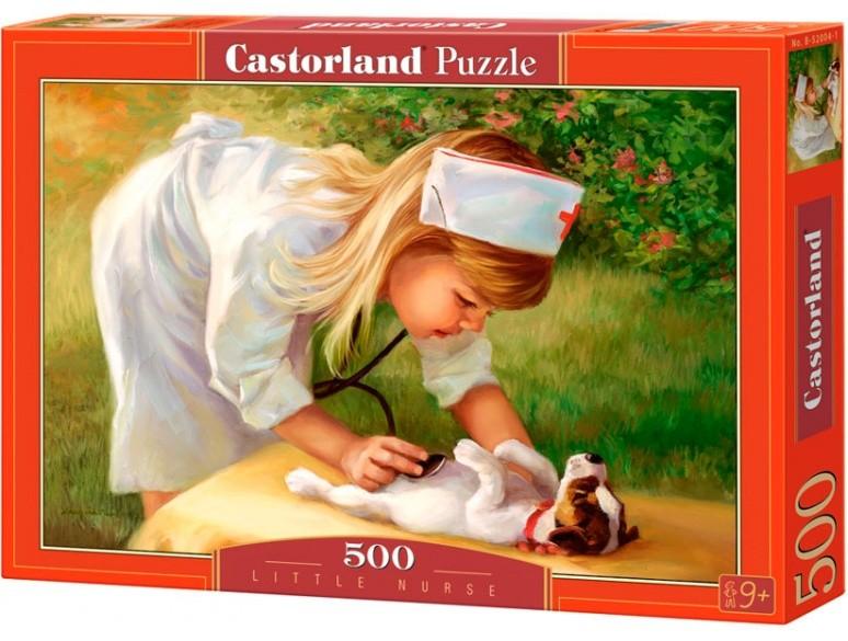 Пазл: Маленькая медсестра, 500 элементов - Castorland