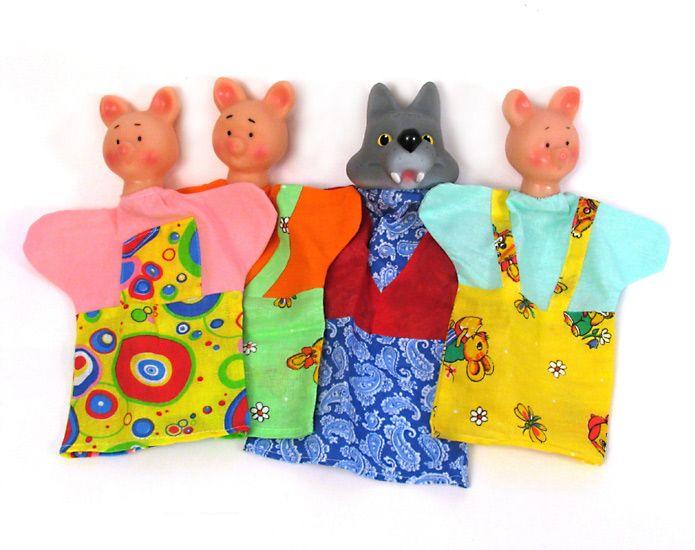 Кукольный театр: Три поросенка - Русский стиль