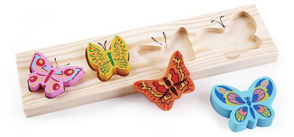 Доска-вкладыш Бабочки - Томик