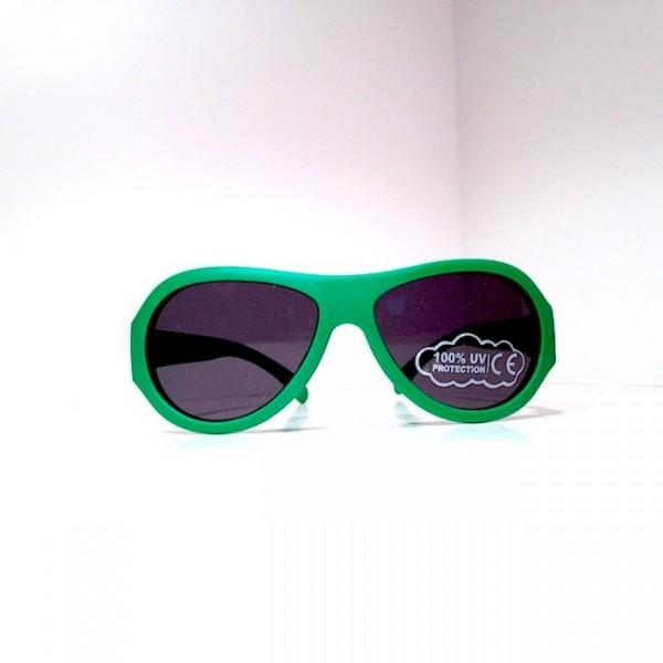 Солнцезащитные очки, Babiators Go Time Green, 0-3 лет
