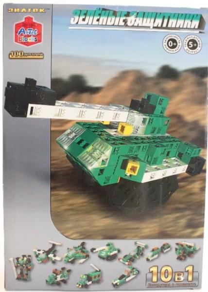 Конструктор ArTeC: Зеленые защитники, 100 дет.