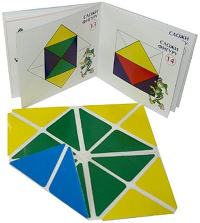 Квадрат 4 цвета - Развивающие