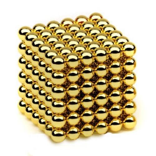 Неокуб Оригинал, Золото 216 шариков, 5 мм
